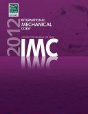 International Mechanical Code 2012