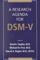 A Research Agenda for DSM V