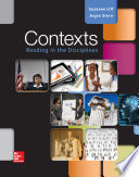 Contexts  Reading in the Disciplines