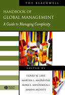 The Blackwell Handbook of Global Management