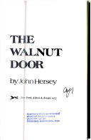 The Walnut Door