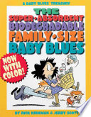 The Super Absorbent  Biodegradable  Family Size Baby Blues