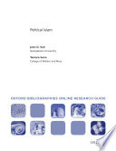Political Islam: Oxford Bibliographies Online Research Guide