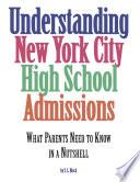 Understanding New York City High School Admissions