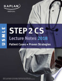 USMLE Step 2 CS Lecture Notes 2018