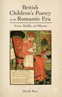 British Children s Poetry in the Romantic Era