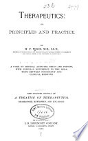 Therapeutics: Its Principles and Practice
