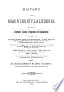 History of Marin County, California