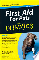First Aid For Pets For Dummies    Portable Edition