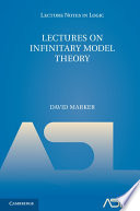 Lectures on Infinitary Model Theory