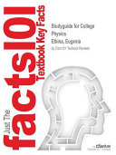 Studyguide for College Physics by Etkina  Eugenia  ISBN 9780321939982