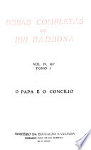 Obras completas de Rui Barbosa