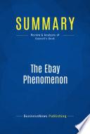 Summary  The Ebay Phenomenon
