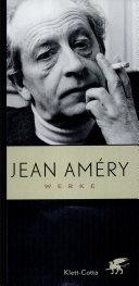 Jean Amery Werke