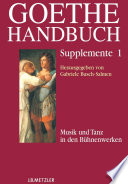 Goethe-Handbuch Supplemente