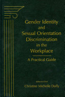 Gender Identity and Sexual Orientation Discrimination in the Workplace