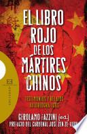 El libro rojo de los m  rtires chinos