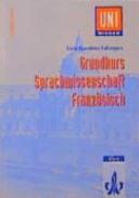 Grundkurs Sprachwissenschaft Franz  sisch