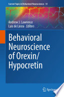Behavioral Neuroscience of Orexin Hypocretin