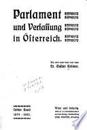 Parlament und Verfassung in Österreich