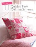 Quilt Essentials 11 Quick Easy Quilting Patterns