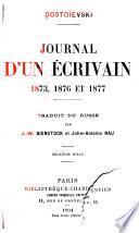 Journal d un   crivain  1873  1876 et 1877