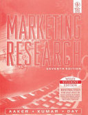 Marketing Research 7th Ed