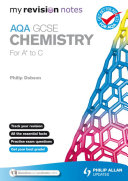 My Revision Notes: AQA GCSE Chemistry (for A* to C) ePub