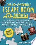 The Do It Yourself Escape Room Book Book PDF