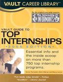 Vault Guide to Top Internships