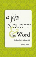 A Joke  a Quote    the Word