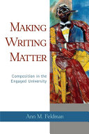 Making Writing Matter
