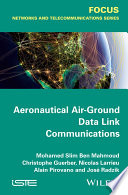 aeronautical air ground data link communications