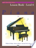 Alfred s Basic Piano Library   Lesson Book 6