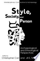 Style  Society  and Person