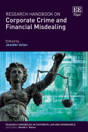 Research Handbook on Corporate Crime and Financial Misdealing Book