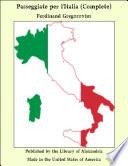 Passeggiate Per L Italia  Complete