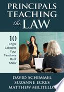 Principals Teaching The Law
