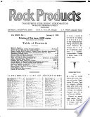 Rock Products