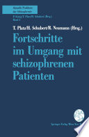 Fortschritte im Umgang mit schizophrenen Patienten