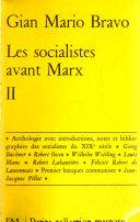 Les socialistes avant Marx, 3 tomes