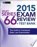 Wiley Series 66 Exam Review 2015   Test Bank