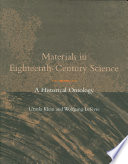 Materials in Eighteenth century Science