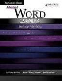 Signature Series  Advanced Microsoft Word 2013  Desktop Publishing