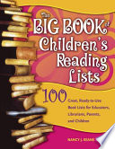 The Big Book Of Children S Reading Lists book