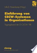Einführung von CSCW-Systemen in Organisationen