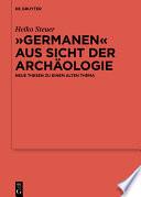 Germanen Aus Sicht Der Arch Ologie