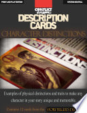 Description Cards   Storytellers Deck   Character Distinctions excerpt    Creative Inspiration for Writers  Storytellers and GMs