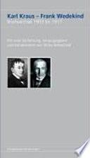 Karl Kraus, Frank Wedekind