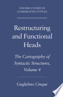 Restructuring and Functional Heads